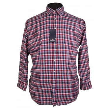 Ben Green Brushed Cotton Check Shirt