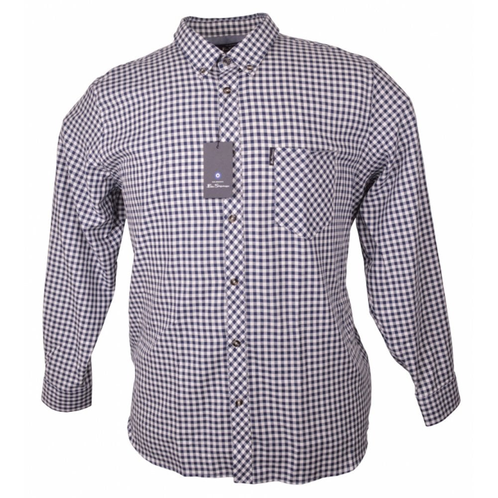 98b2220e2ca929 Ben Sherman Gingham Check Button-Down Shirt - Clothing from Chatleys  Menswear UK