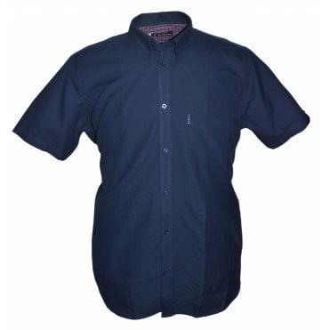 3a8a70a1 Ben Sherman Oxford Short Sleeve Button Down Shirt