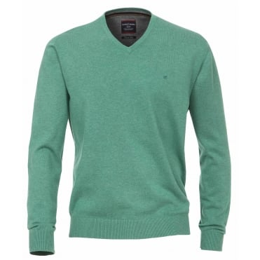 Casa Moda Plain V Neck Sweater