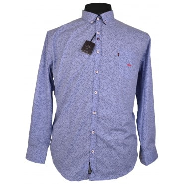 Dario Beltran Fashion Print Long Sleeve Shirt
