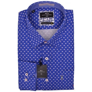 Dario Beltran Galon Long Sleeve Casual Shirt