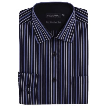 Double Two Formal Stripe Shirt