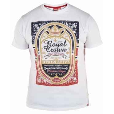 Duke Royal Crown Print T Shirt