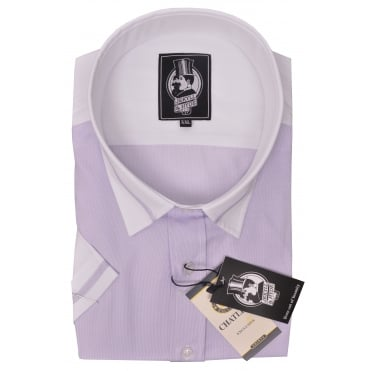 Jekyll And Hyde Short Sleeve Fashion Shirt