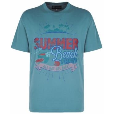 Kam Fashion Print Summer Tshirts