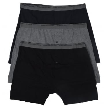 Mens Big Size 3 Pack Trunk