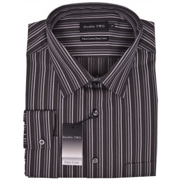 Mens Big Size Double Two Formal Shirt