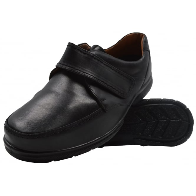 Mens Extra Wide Fitting Leather Shoe