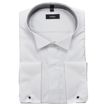 Mens Large Wing Collar Dress Shirt