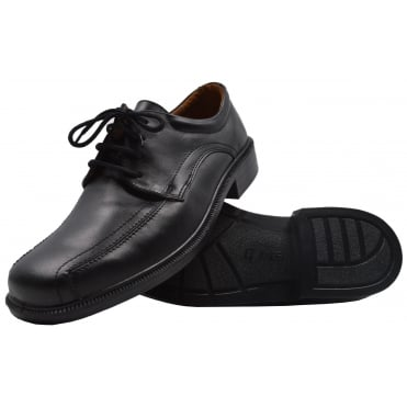 Mens Wide Fitting Leather Lace Up Shoe