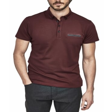 Mish Mash Fashion Plain Polo