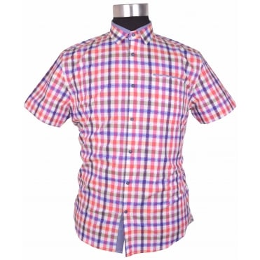 Mishmash Check Short Sleeve Shirt