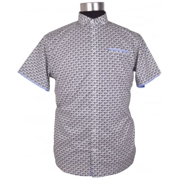 Mishmash Fashion Printed Short Sleeve Shirt