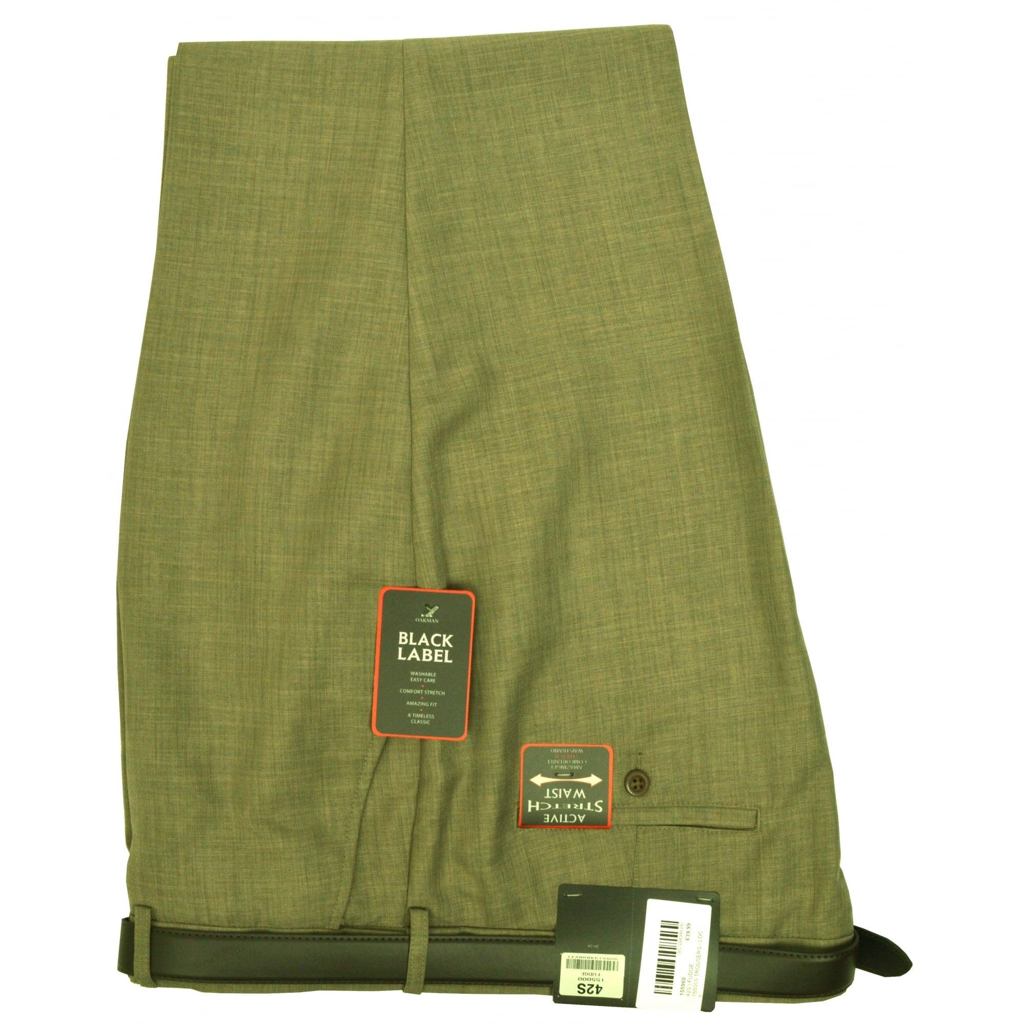 Oakman Flexi Waist Trouser Clothing From Chatleys Menswear Uk