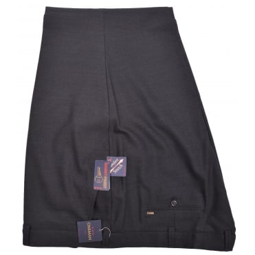 Oakman Wool Mix Stretch Waist Trouser