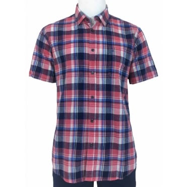 Peter Gribby Check Short Sleeve Shirt