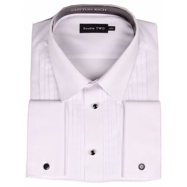 Stitch Pleat Dress Shirt