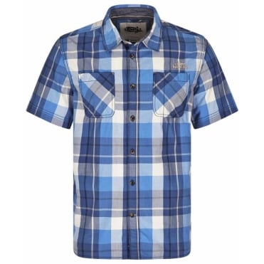 Weird Fish Casual Short Sleeve Check Shirt